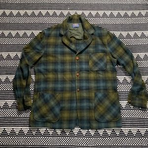 Vintage Pendleton Men's 100% Wool Flannel